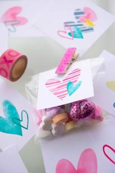 PRINTABLE Valentine Heart Tags