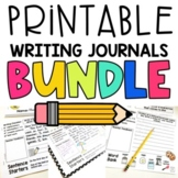 PRINTABLE Writing Journals with Prompts for Each Month GRO