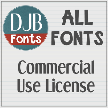 PRIVATE LISTING - CU ALL THE FONTS LICENSE
