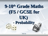 PROBABILITY MATHS - 8TH, 9TH AND 10TH GRADE