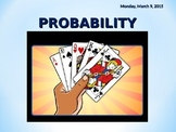 PROBABILITY POWERPOINT