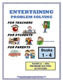 PROBLEM SOLVING ACTIVITIES BOOKS (#1,#2,#3,#4) (1 - 100)
