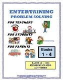 PROBLEM SOLVING ACTIVITIES BOOKS (#1,#2,#3,#4) (1 - 100)