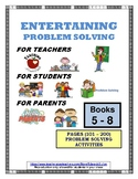PROBLEM SOLVING ACTIVITY BOOKS (#5,#6,#7,#8) (101 - 200)