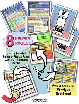 PROBLEM SOLVING ILLUSTRATED! HYGIENE TOPICS!  60 Cards! Problems & Questions!