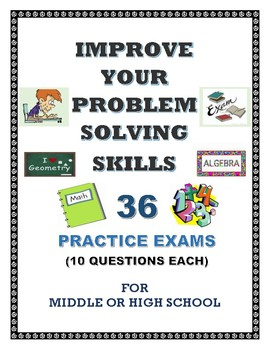 PROBLEM-SOLVING SKILLS  EXAMS (1 - 36)