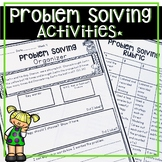 PROBLEM SOLVING WORKSHEETS, WORD PROBLEMS, LESSON PLANS, PRINTABLES AND MORE