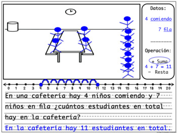 PROBLEMAS SUMAS RESTAS ADDITION AND SUBSTRACTION WORD PROBLEMS SPANISH