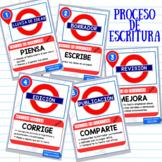 PROCESO DE ESCRITURA- POSTERS
