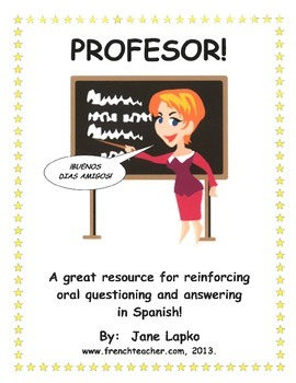 PROFESOR! - SPANISH DAILY QUESTIONS