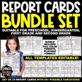 EDITABLE Progress Report (Fun) for Preschool, Kindergarten, Elementary School