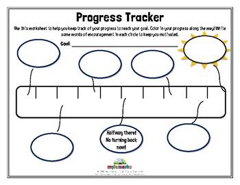PROGRESS TRACKER (BLANK)