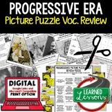 PROGRESSIVE ERA Vocabulary Activity Picture Puzzle Unit Re