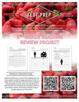 TEST PREP - 5th Grade Reading Review (Language Arts)