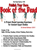 PROJECT-BASED: CREATE A BOOK OF THE DEAD LESSON; COMMON CO