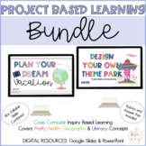 PROJECT BASED LEARNING BUNDLE | THEME PARK & VACATION | DIGITAL RESOURCE