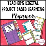 Editable Digital Teacher Planner for PROJECT BASED LEARNING
