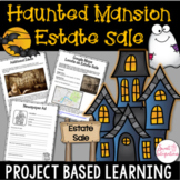 HAUNTED HOUSE ESTATE SALE | Project Based Learning Math | Halloween Activities