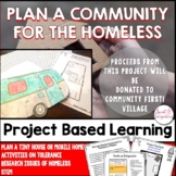 PROJECT BASED LEARNING ACTIVITY: PLAN A COMMUNITY FOR THE HOMELESS