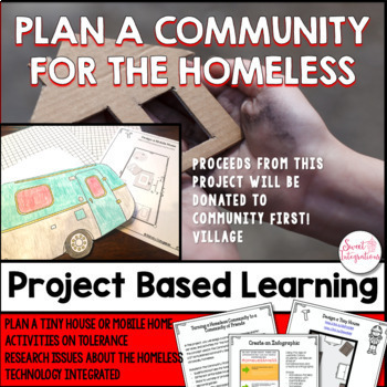 PLAN A COMMUNITY FOR THE HOMELESS | Project Based Learning STEM | Social Studies