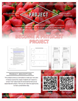 PROJECT - Become a Physicist (Science)