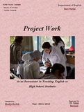 PROJECT WORK as an Instrument in teaching English in high