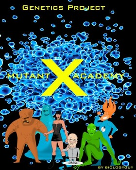 DNA, Mutant X Academy, Genetics Project, DNA Mutations, fun lab and activities