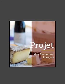 PROJET: mon restaurant français