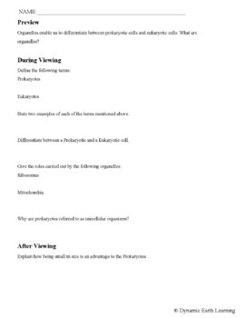 PROKARYOTIC  VS  EUKARYOTIC: FuseSchool Biology Video Guide