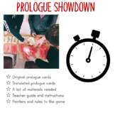 PROLOGUE SHOWDOWN GAME! Getting Your Students Excited about Romeo and Juliet