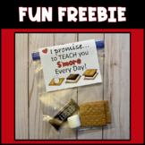 PROMISE TO TEACH YOU S'MORE EVERY DAY FREEBIE