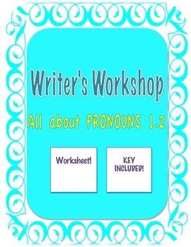 PRONOUNS FOR 7-12 GRADES! (Pronoun agreement)
