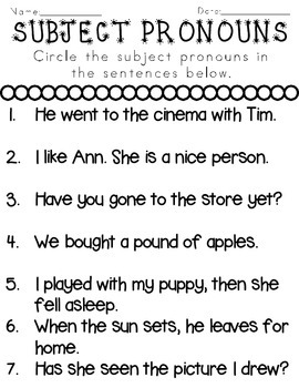subject pronouns by rock paper scissors teachers pay teachers. Black Bedroom Furniture Sets. Home Design Ideas