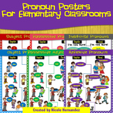 Pronoun Posters, Picture Cards and Notebook Sheets