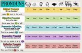PRONOUNS infographic