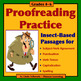 PROOFREADING BUNDLE #3 • INSECTS • HUMAN BODY • PLANTS