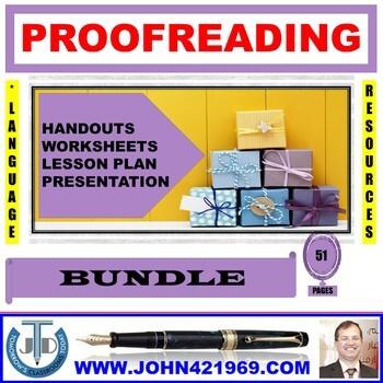 PROOFREADING BUNDLE