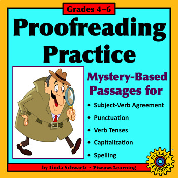 PROOFREADING MYSTERIES • Grades 4–6