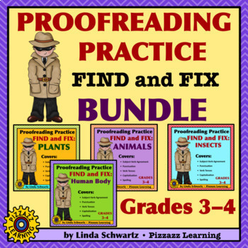 PROOFREADING PRACTICE: FIND AND FIX BUNDLE