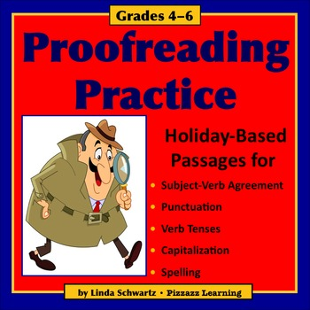 PROOFREADING PRACTICE: HOLIDAYS