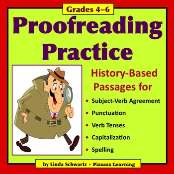PROOFREADING PRACTICE: U.S. History-Based Passages