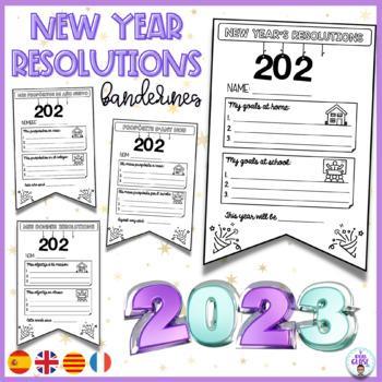 PROPÓSITOS AÑO/NEW YEAR'S RESOLUTION/MES BONNES RÉSOLUTIONS  Back winter break