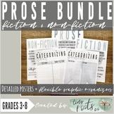 PROSE GENRES BUNDLE  |  Fiction + Non-Fiction |  Posters +