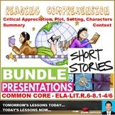 PROSE READING COMPREHENSION PRESENTATIONS: BUNDLE