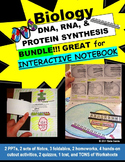 DNA, RNA, & PROTEIN SYNTHESIS Notes, PowerPoints, & Activities