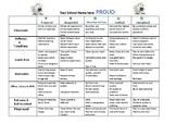 PROUD PBIS School Matrix