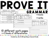 PROVE IT: GRAMMAR