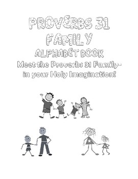 PROVERBS 31 FAMILY ALPHABET w Posters