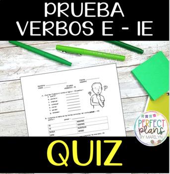 Quiz - PRUEBA E-IE