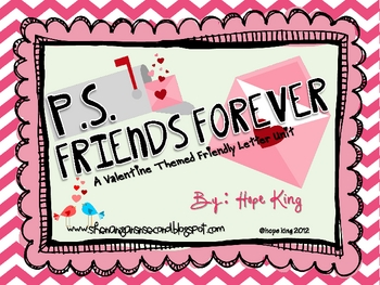 P.S. Friends Forever {Writing Friendly Letters}